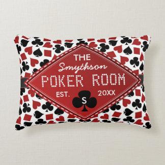 Casino adaptable del sitio del póker cojín decorativo