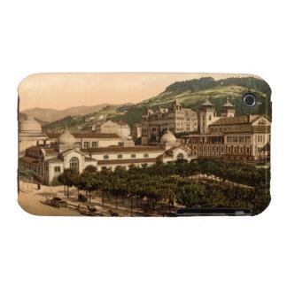 Casino and Baths, La Bourboule, Auvergne, France iPhone 3 Case