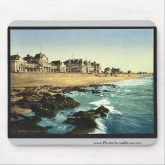 Casino and Grand Hotel, Parame, France vintage Pho Mouse Pad