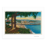 Casino and Pier, Santa CruzSanta Cruz, CA Postcard