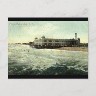 Casino, Asbury Park NJ 1910 postcard