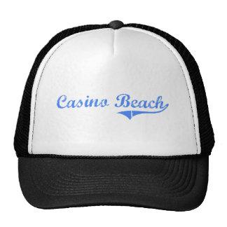 Casino Beach Florida Classic Design Hats