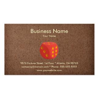Casino Business Card Template