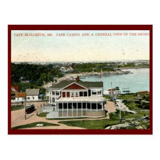 Casino Cape Elizabeth Maine Vintage Post Card