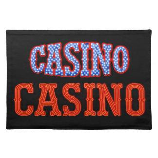 Casino Casino! Cloth Place Mat