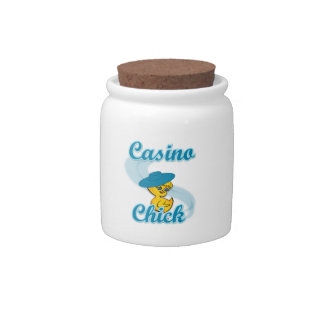 Casino Chick #3 Candy Dish
