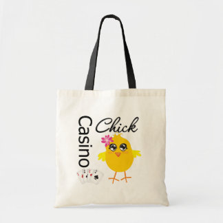 Casino Chick Budget Tote Bag