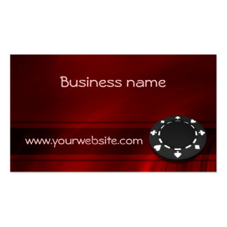 Casino Chip Business Card