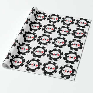Casino Chip Wrapping Paper