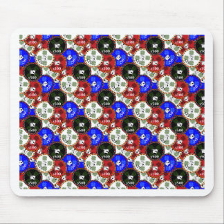 Casino Chips Mouse Pad