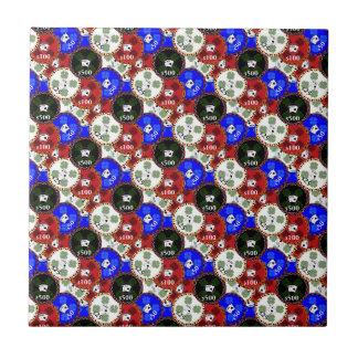 Casino Chips Tiles