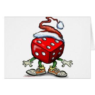 Casino Christmas Card