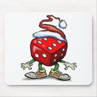 Casino Christmas Mouse Pad