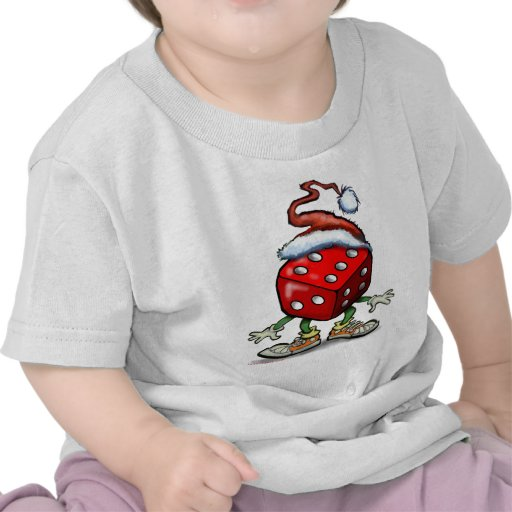 Casino Christmas T-shirts