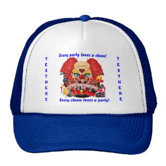 Casino Clown View Notes Please Mesh Hat