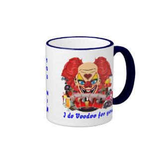 Casino Clown Voodoo 1 See Notes Ringer Coffee Mug
