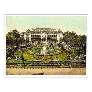 Casino con el jardín de la palma, Frankfort en la  Postales