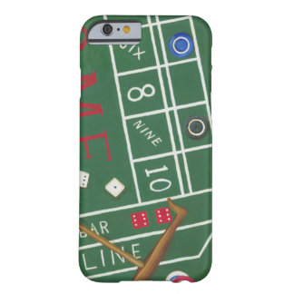Casino Craps Table with Chips and Dice Barely There iPhone 6 Case