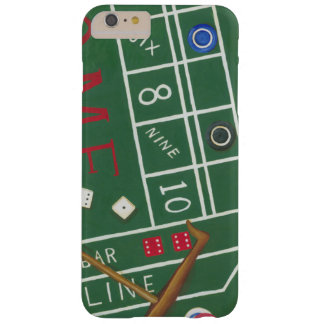 Casino Craps Table with Chips and Dice Barely There iPhone 6 Plus Case