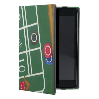 Casino Craps Table with Chips and Dice Case For iPad Mini