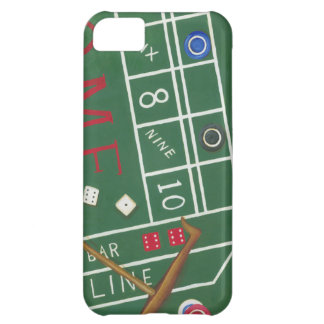 Casino Craps Table with Chips and Dice Case For iPhone 5C