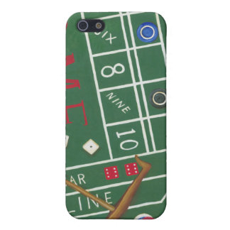 Casino Craps Table with Chips and Dice Case For iPhone SE/5/5s