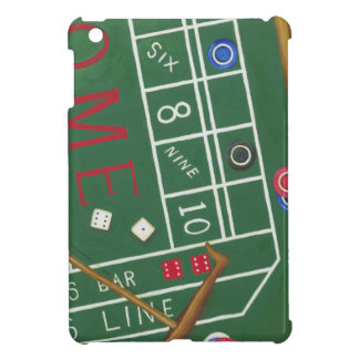 Casino Craps Table with Chips and Dice Case For The iPad Mini