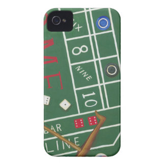 Casino Craps Table with Chips and Dice Case-Mate iPhone 4 Case