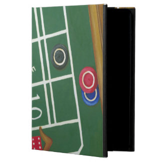 Casino Craps Table with Chips and Dice iPad Air Case