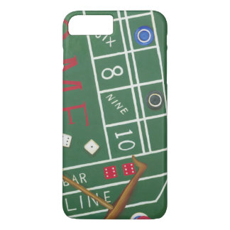 Casino Craps Table with Chips and Dice iPhone 7 Plus Case