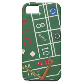 Casino Craps Table with Chips and Dice iPhone SE/5/5s Case