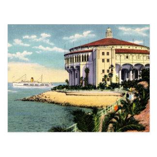 Casino de la isla de Catalina Postal