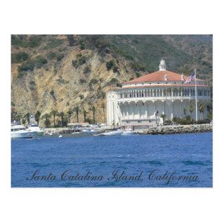 casino de la isla de Catalina Tarjetas Postales