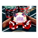 Casino de Las Vegas Tarjeta Postal