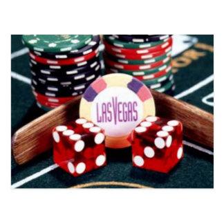 Casino de Las Vegas Tarjetas Postales