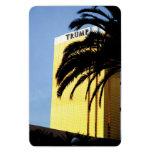Casino de Las Vegas y imán flexible de la palmera