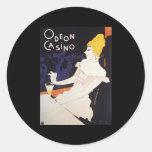 Casino de Odeon Etiqueta Redonda