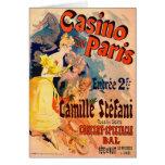 Casino de París 1891 Felicitacion