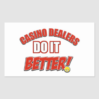 Casino Dealers designs Sticker