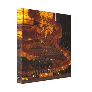 CASINO Deco Las Vegas - épocas felices coloridas Lienzo Envuelto Para Galerias