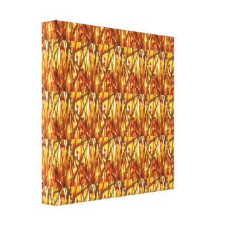 CASINO Deco Las Vegas - GOLD STRANDS ART Canvas Print