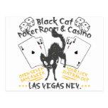 Casino del gato negro postales