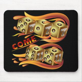 Casino Dice  7 come 11 Mouse Pad