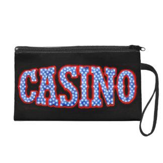 Casino en blanco y azul rojos