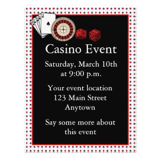 Casino Event Flyer