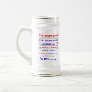 Casino Fast Luck Mojo View Notes Beer Stein