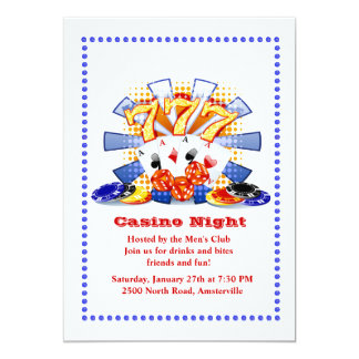 Casino Fun Card