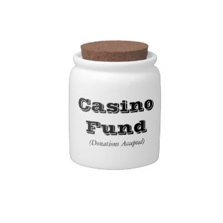 """Casino Fund"" Jar Candy Dish"