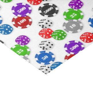 "Casino gambling night party tissue paper 15"" x 20"" tissue paper"