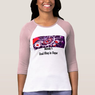 Casino Gambling Vegas Style Bachelorette T-Shirt
